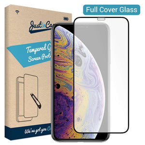 Just in Case Tempered Glass - Apple iPhone XS (Full Cover)