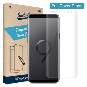 Just in Case Tempered Glass - Samsung Galaxy S9+ (Full Cover)