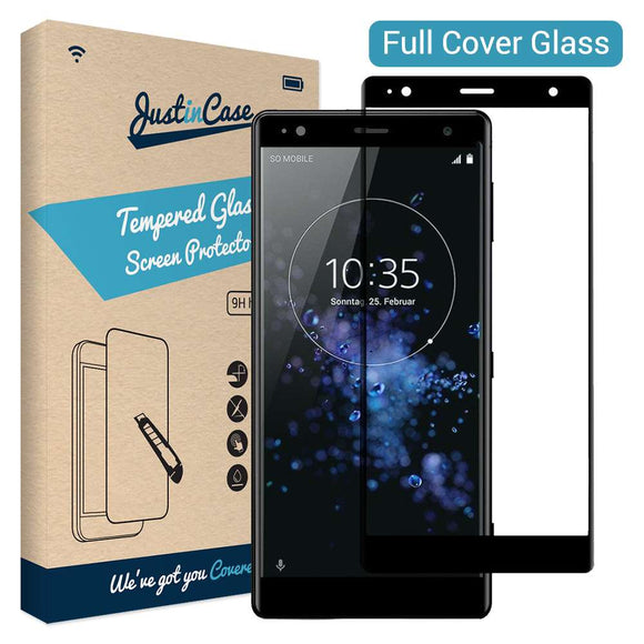 Just in Case Tempered Glass - Sony Xperia XZ2 (Full Cover)