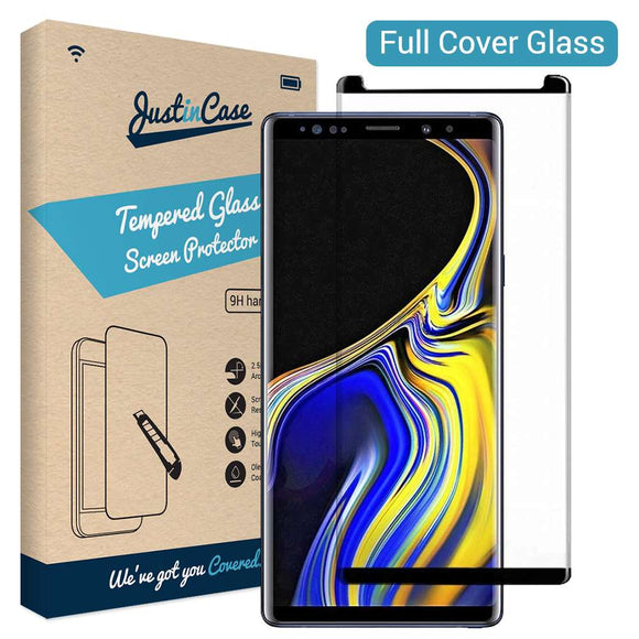 Just in Case Tempered Glass - Samsung Galaxy Note 9 (Open Full Cover)