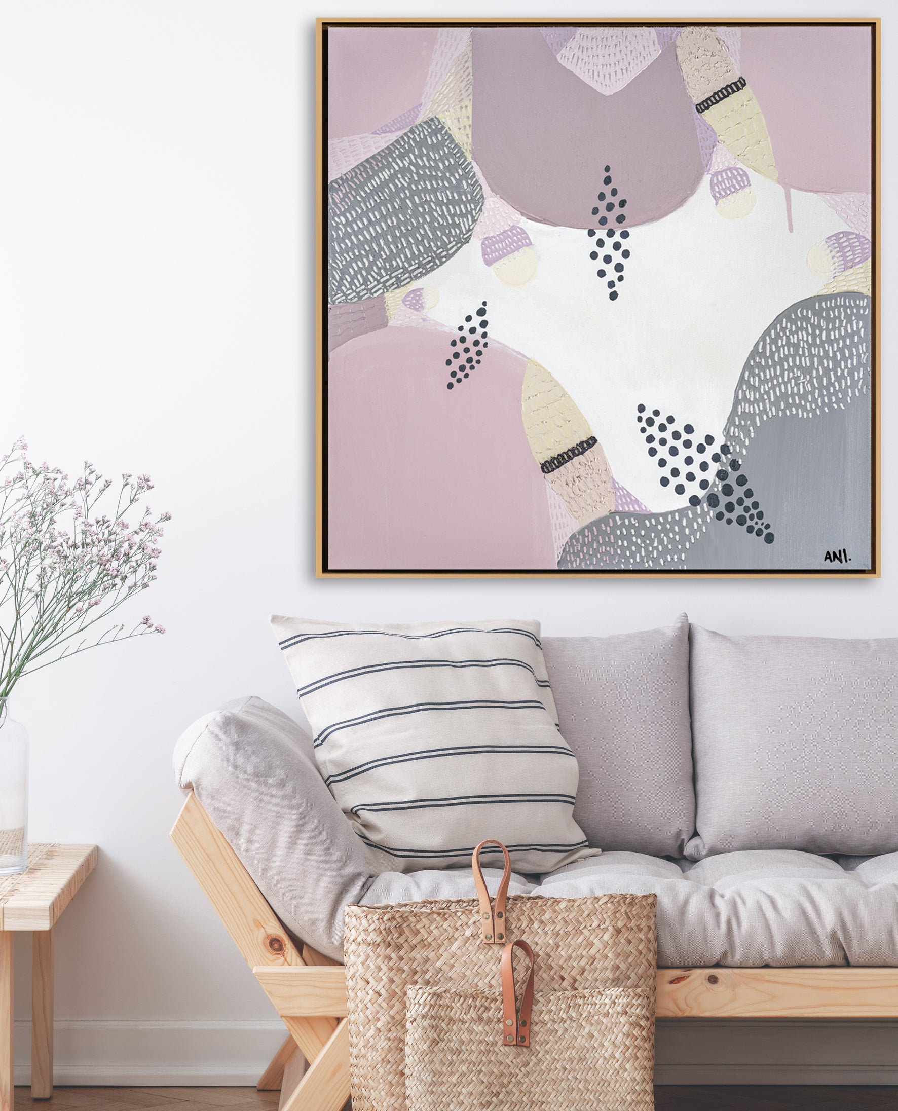 JACARANDA IN BLOOM PRINT UNITED INTERIORS - Ani Ipradjian Art