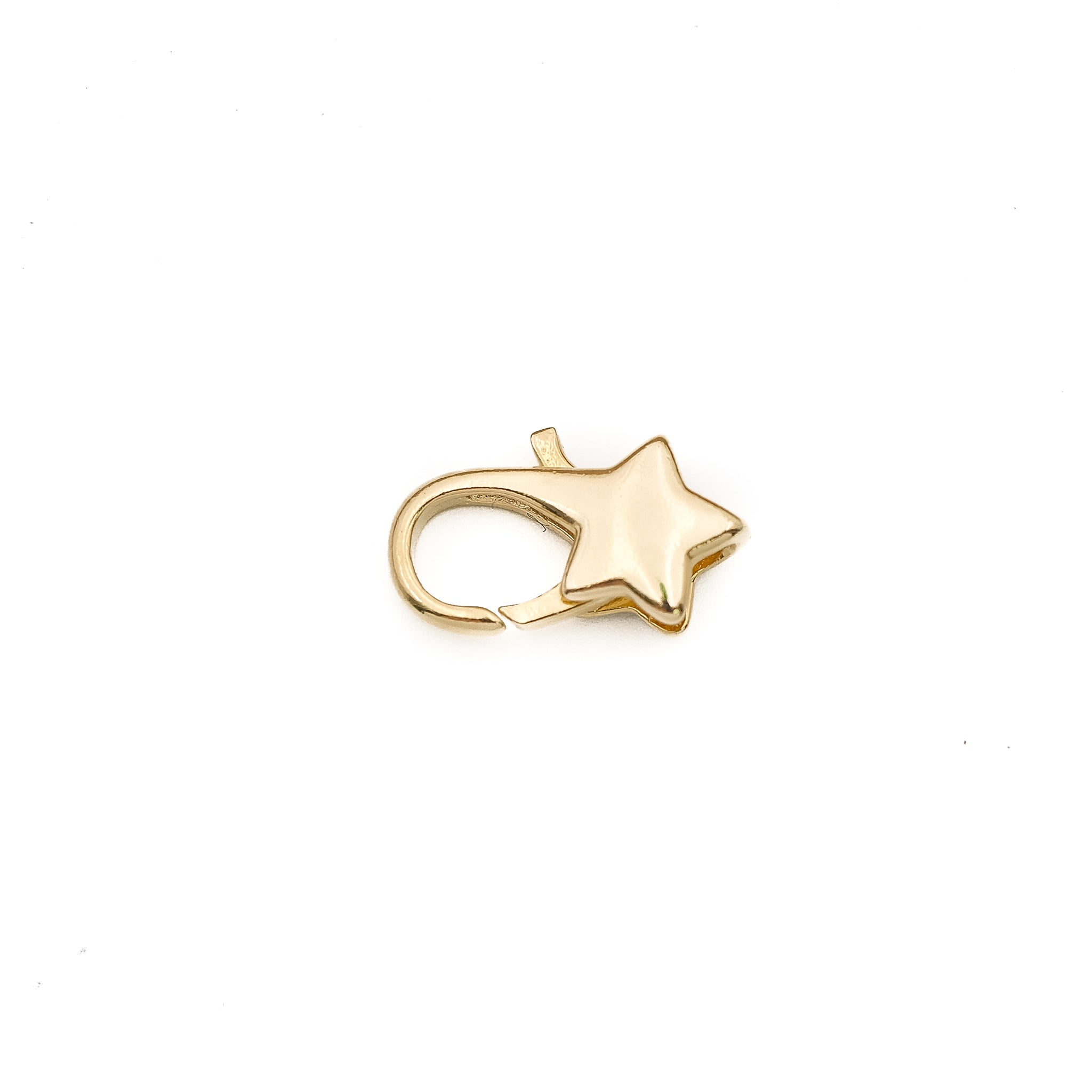 Star Clasps 16mm - 6 pcs