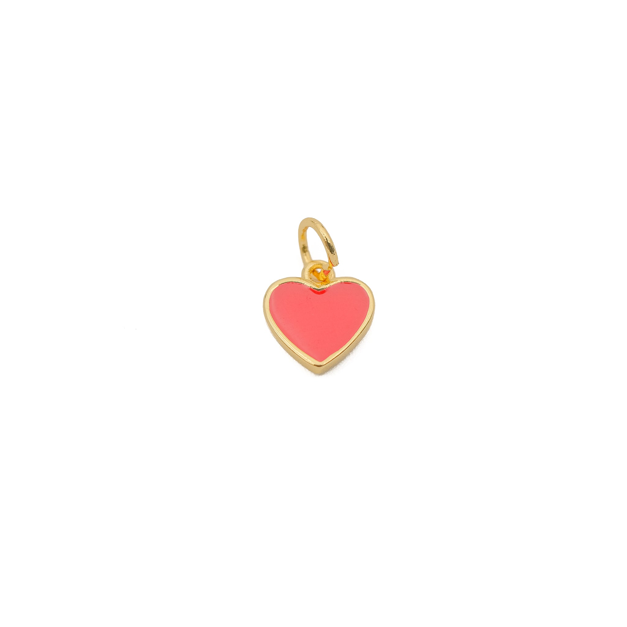 Mini Enamel Red Heart