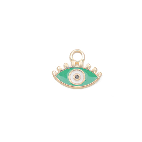Evil Eye Sea Green Enamel
