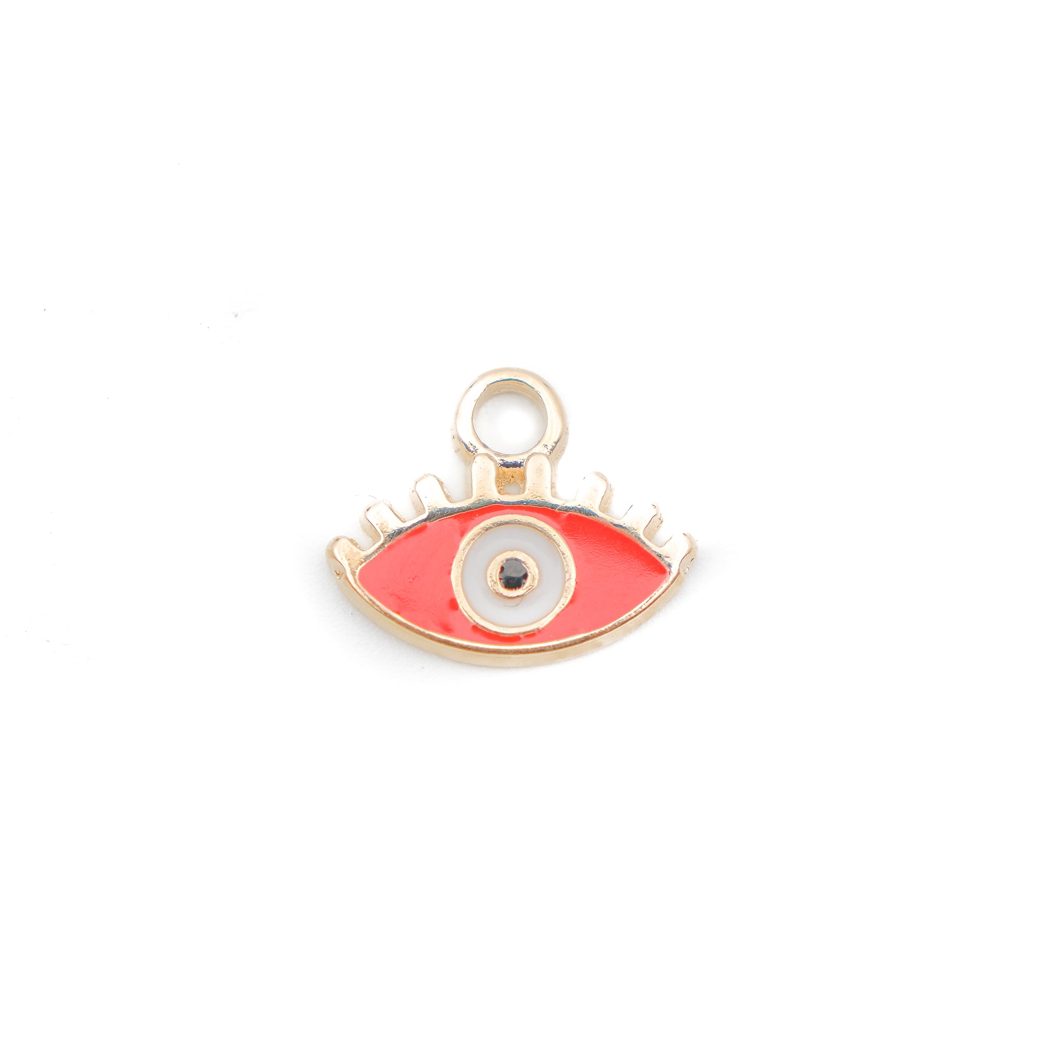 Evil Eye Red Enamel