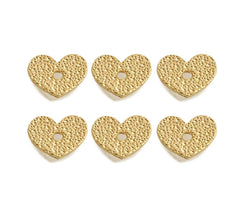 Heart Button - 6 pcs