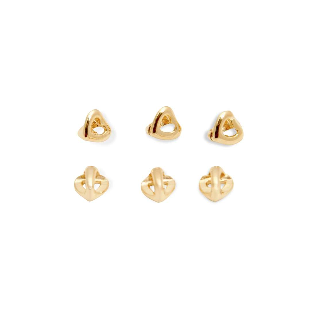 Small Heart Bead -  6 pcs