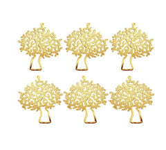 Tree Pendant - 6 pcs