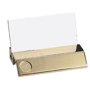 Gold Tone Plated Business Card Holder