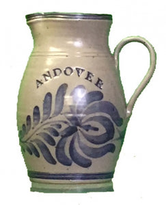 2 Qt. Andover Pottery Pitcher