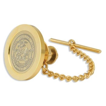 Gold Tone Plated Tie Tack