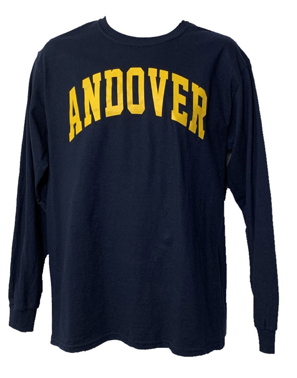 AHS Unisex Long Sleeve Navy T-Shirt