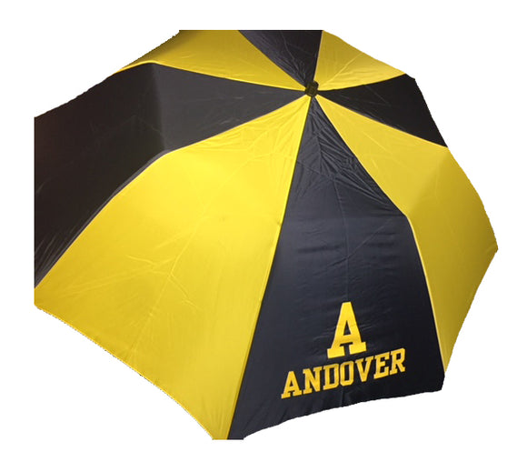 Oversized Umbrella Navy/Yellow
