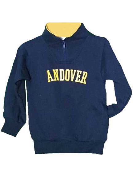 Kids Quarter Zip Pullover