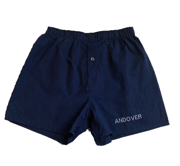 NEW!  Mens Andover Pinstripe Boxer Shorts