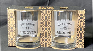 Entering Andover Rocks Glass Set of 2