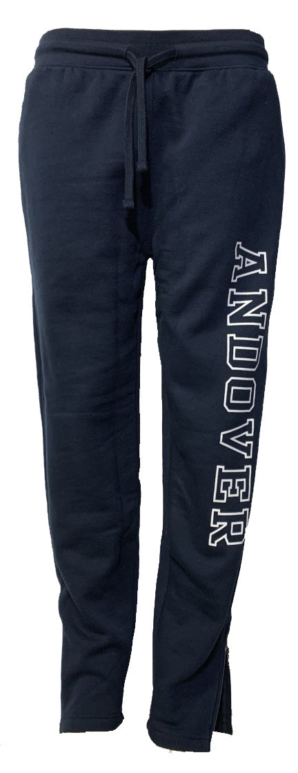 Unisex Zip Bottom Sweatpant