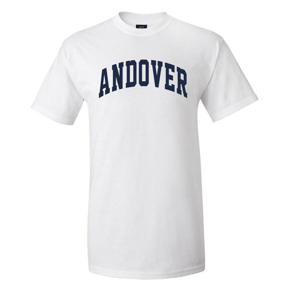 Mens White Andover T-Shirt