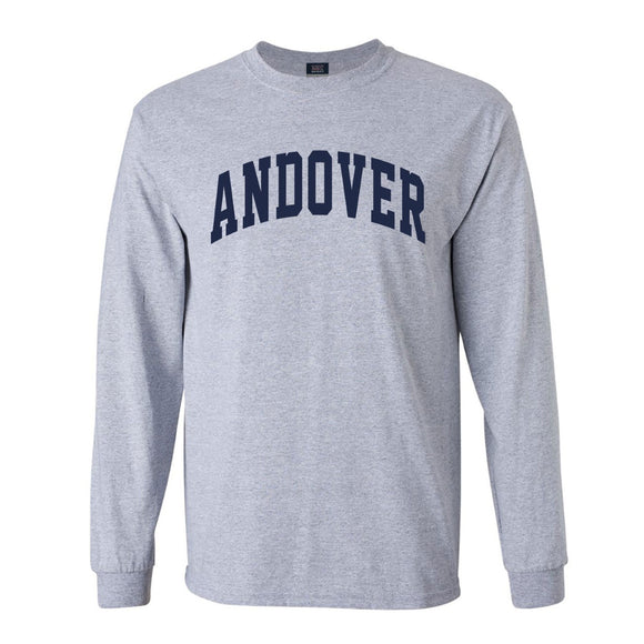 Unisex Long Sleeve Grey T-Shirt