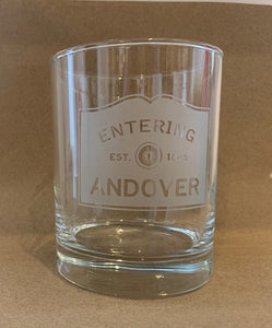 Ent. Andover Rocks Glass