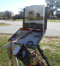 Load image into Gallery viewer, Plein Air Painting the Assateague Back Country - DAY 1