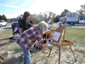 Plein Air Painting the Assateague Back Country - DAY 3