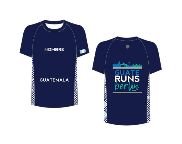 Berlin Blue Marathon Shirt