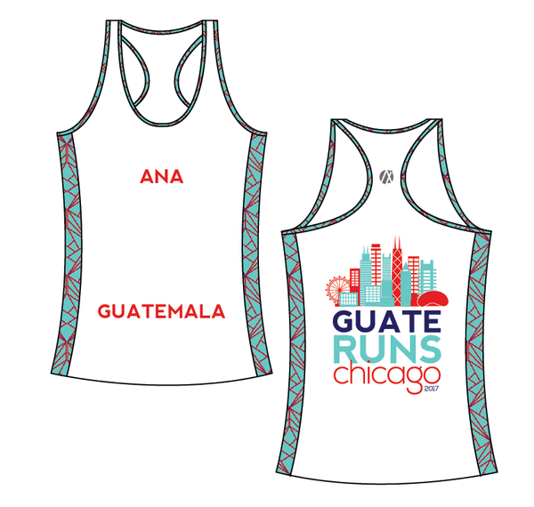 Chicago White Marathon Shirt