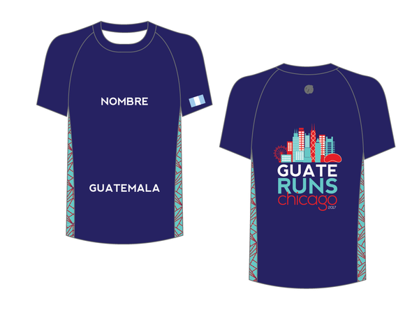 Chicago Blue Marathon Shirt