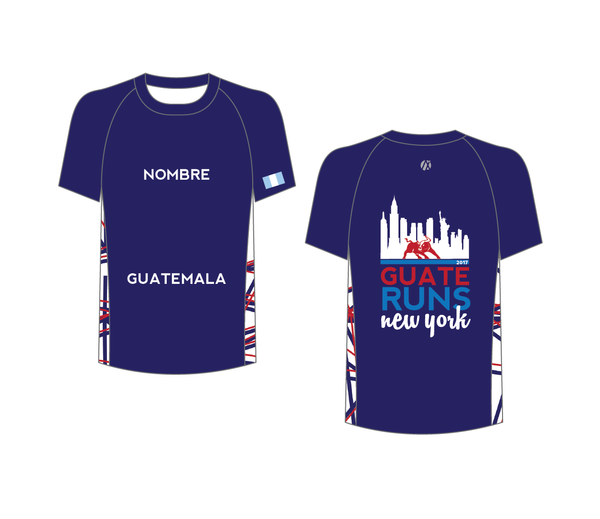 NYC 2017 Blue Marathon Shirt