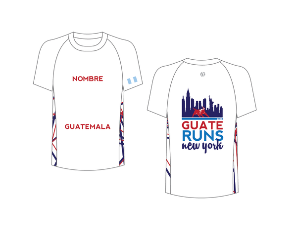 NYC 2017 White Marathon Shirt