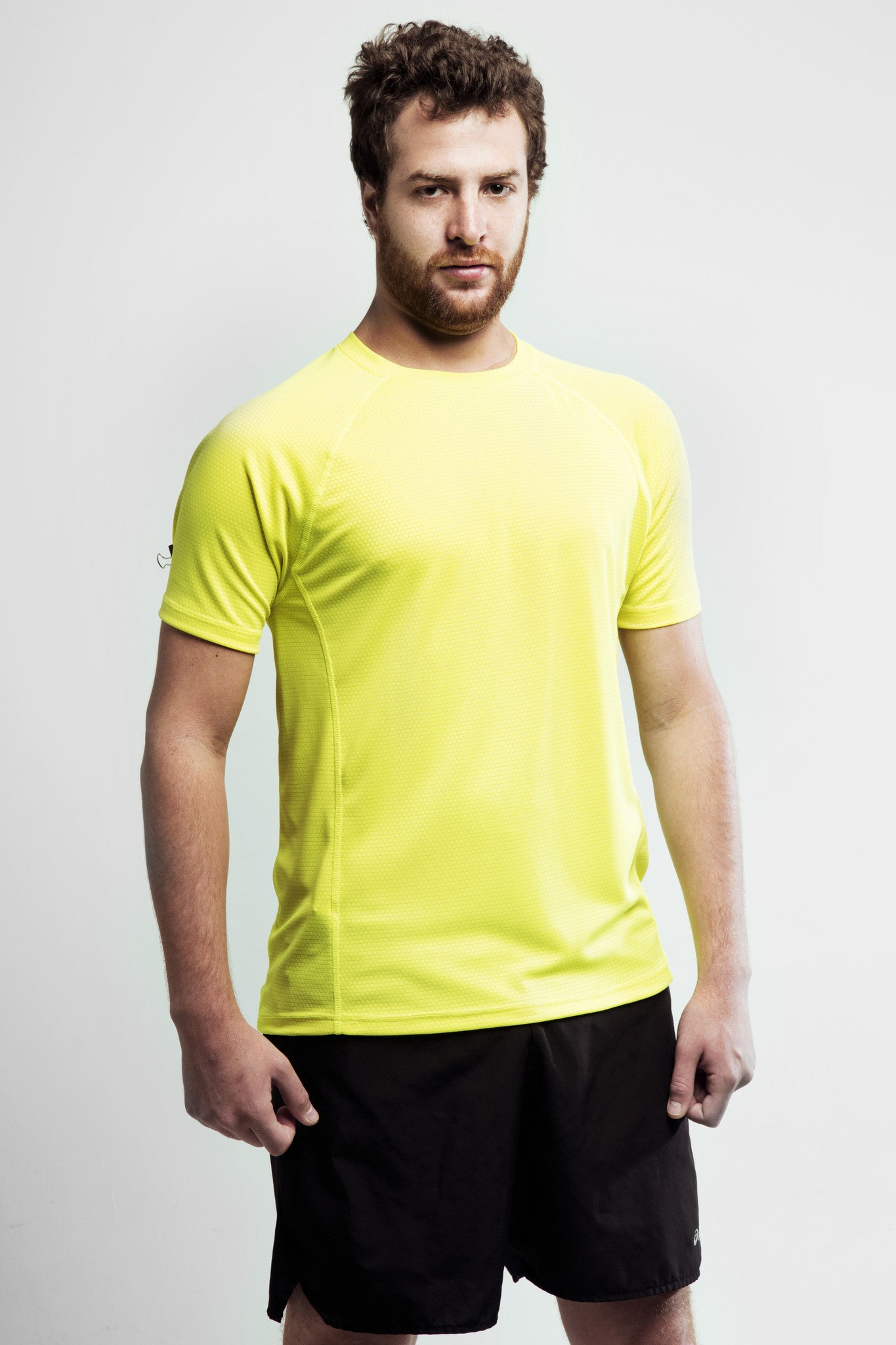 Men's Yellow Training Shirt