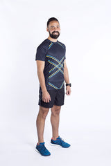 Black Force Men's Running Shirt