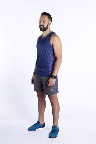Blue Force Men's Running Singlet