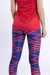 Purple Force Cropped Tights