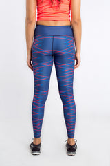 Blue Force Long Tights
