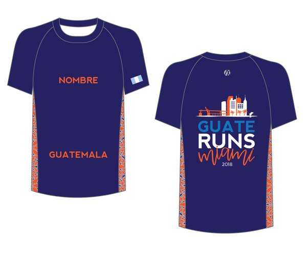 Miami 2018 Half and Full Marathon Shirt