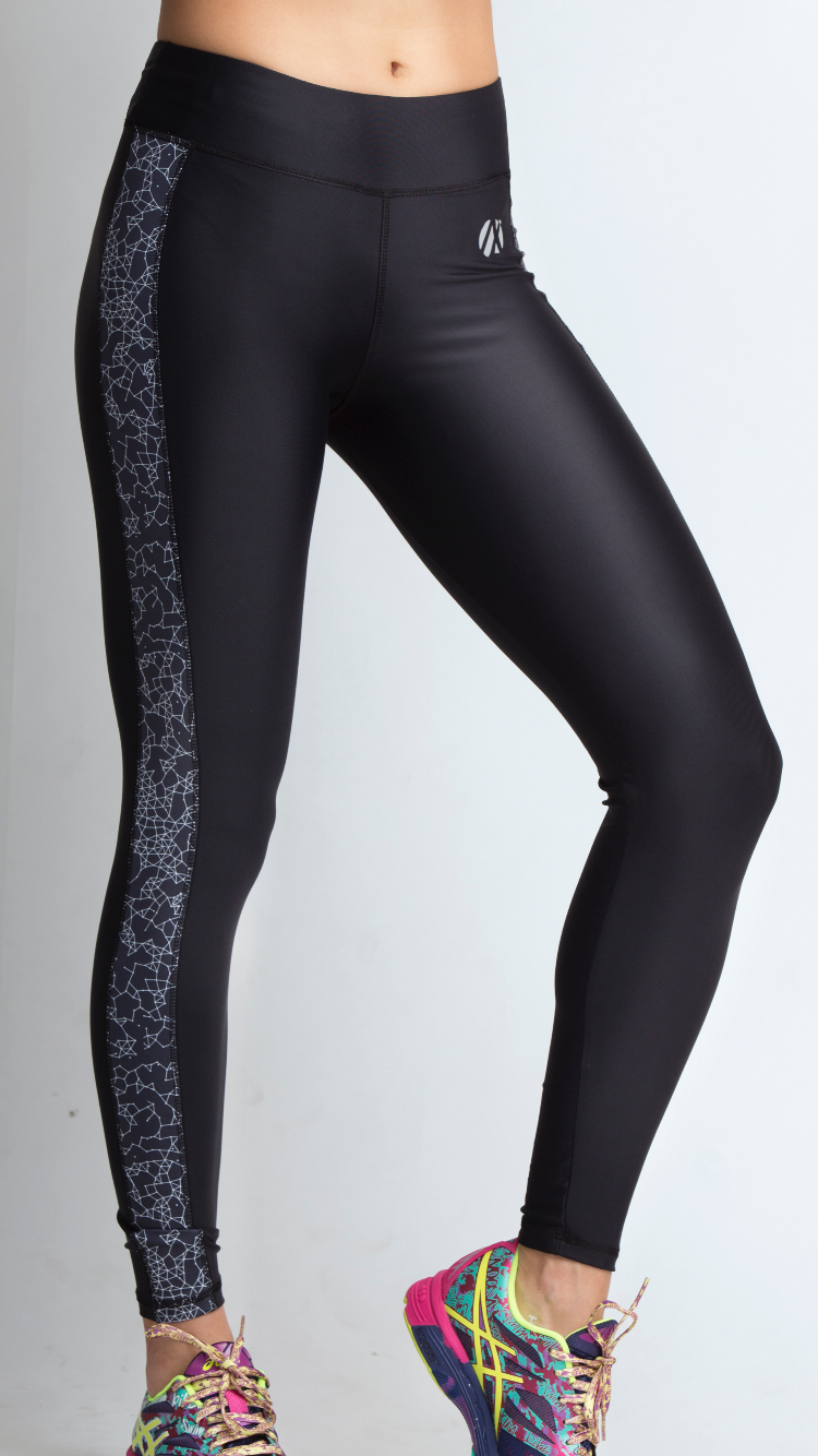 Web Black Long Tights