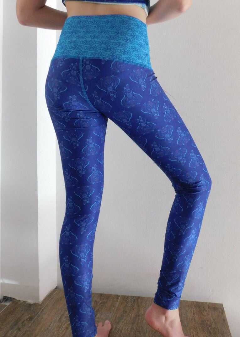 Ganesha Elephant Cropped Tights