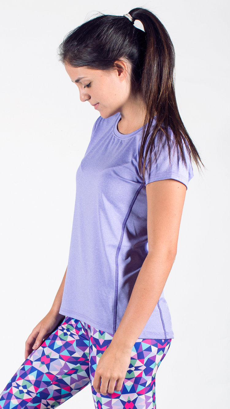 Lilac Women's Running Shirt