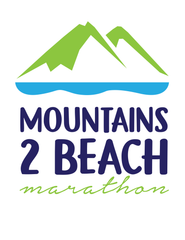 Mountains 2 Beach 2018 Marathon Shirt