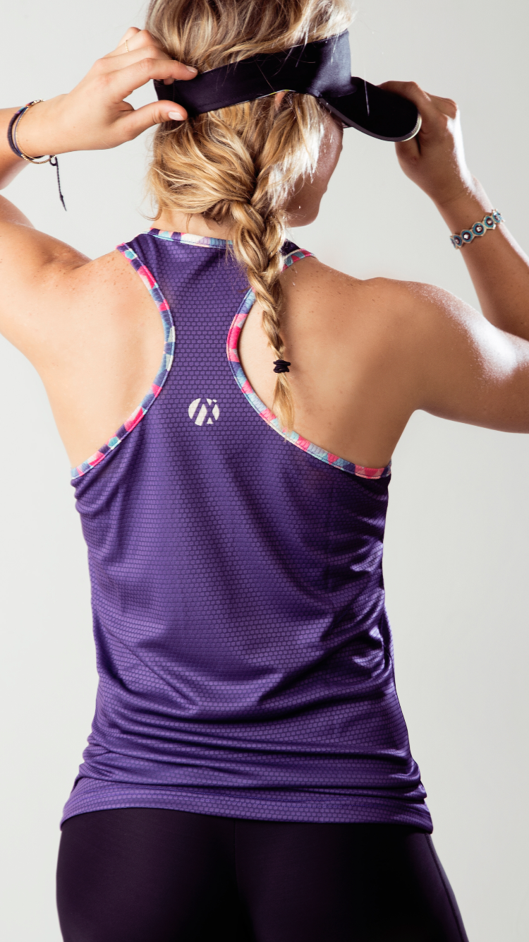 Lilac and Happy Soul Tank Top