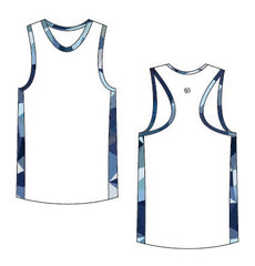Custom Men's Running Singlet
