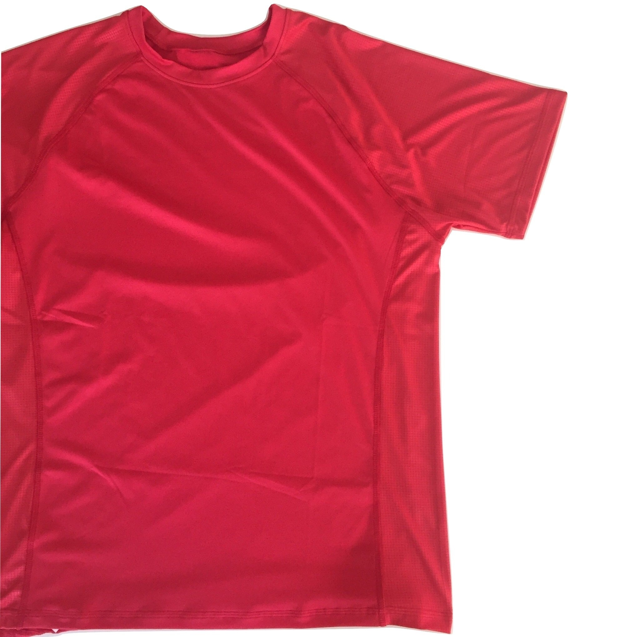 Red Running Shirt