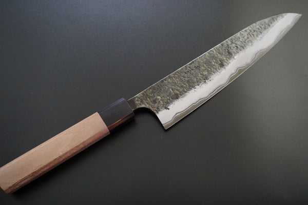 Manaka White 2 210mm Gyuto Stainless Dark Edge - RealSharpKnife.com
