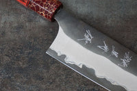 Yu Kurasaki AS 170 mm Santoku Custom #2