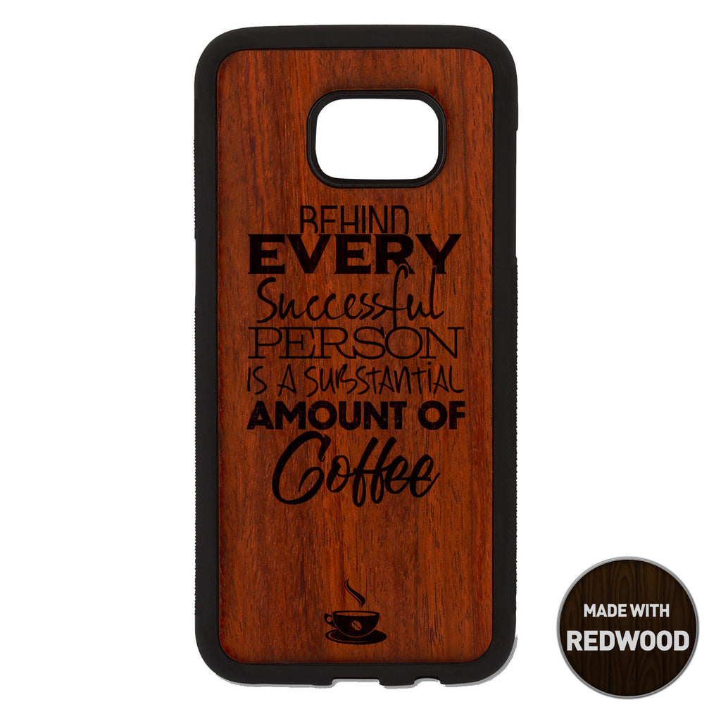 Behind every successful Person Wooden Phone Case / The Coffee House Collection Phone case - iWood inc