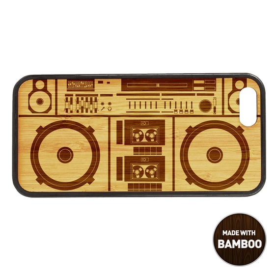 Boombox Wooden Phone Case / Retro Collection Phone case - iWood inc
