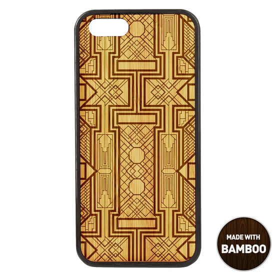 Gatsby Wooden Phone Case / Art Deco iPhone Cases - iWood inc