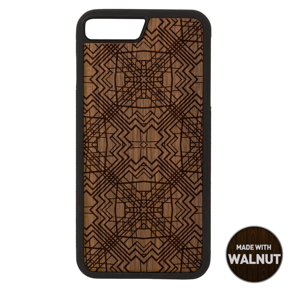 Geometric Wooden Phone Case / Art Deco iPhone case - iWood inc